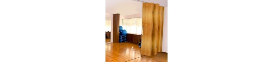 Guia puertas correderas plegables