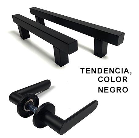 tiradores color negro
